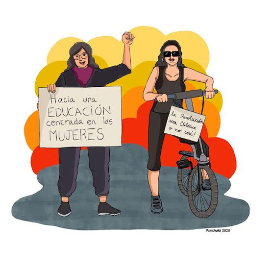 """""""Mujeres entre viñetas"""""""